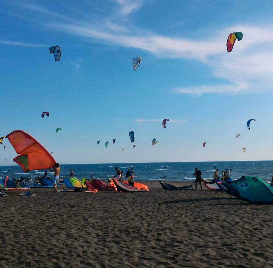 kite surf Cerveteri