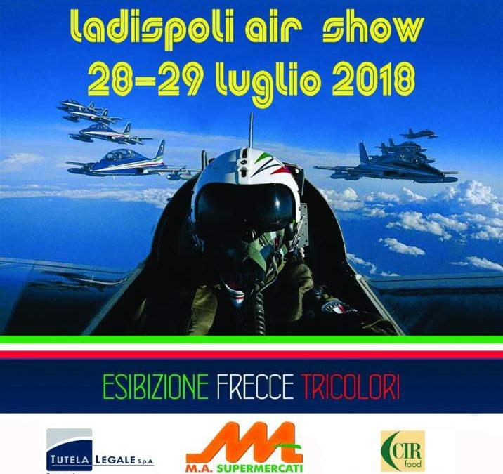 Ladispoli Air Show 2018: ecco la locandina ufficiale