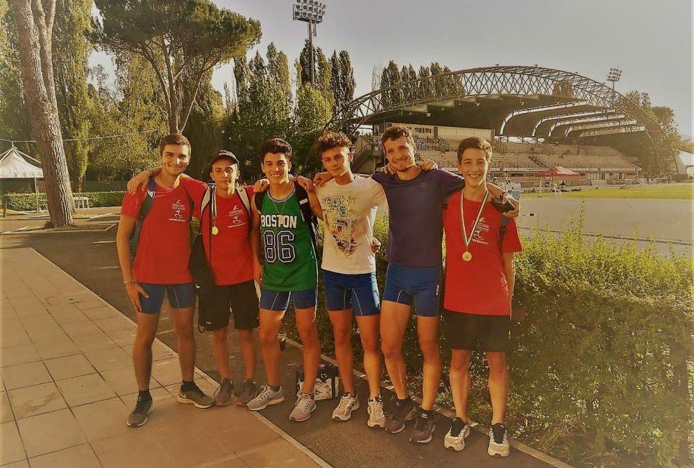 Atletica, la Tirreno va forte con i giovani e con i Master