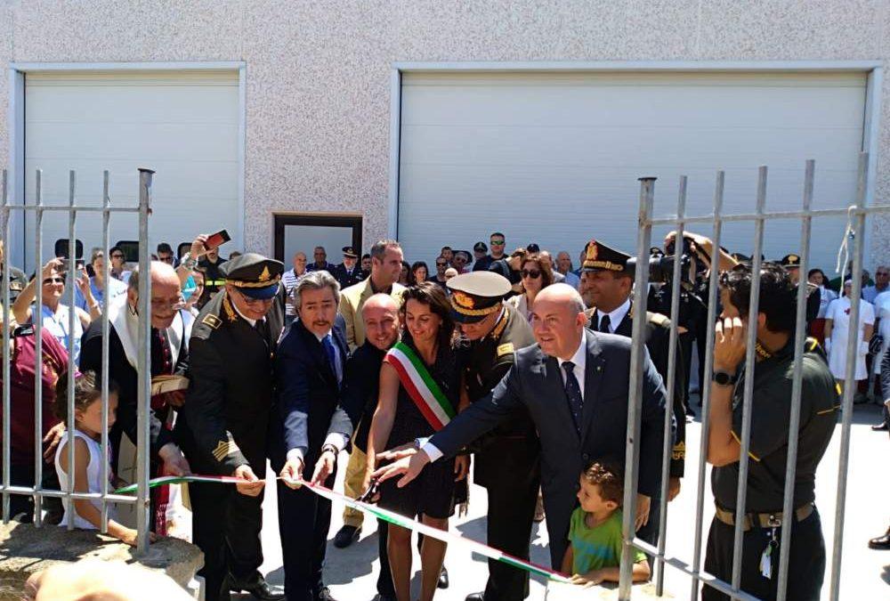 Tarquinia inaugura il distaccamento dei Vigili del Fuoco