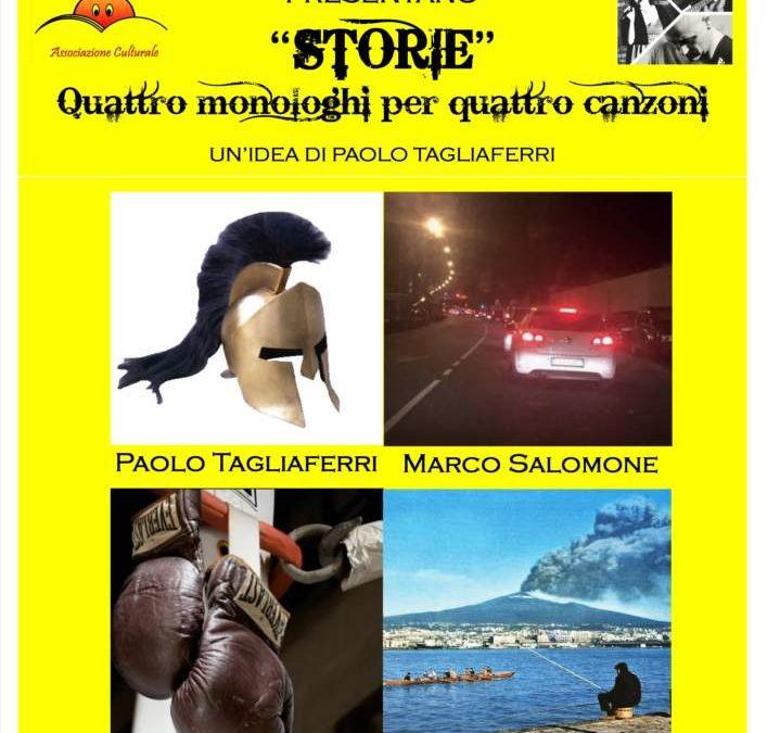 """Santa Marinella, sabato 18 agosto serata all'insegna delle parole e della musica con """"Storie"""""""
