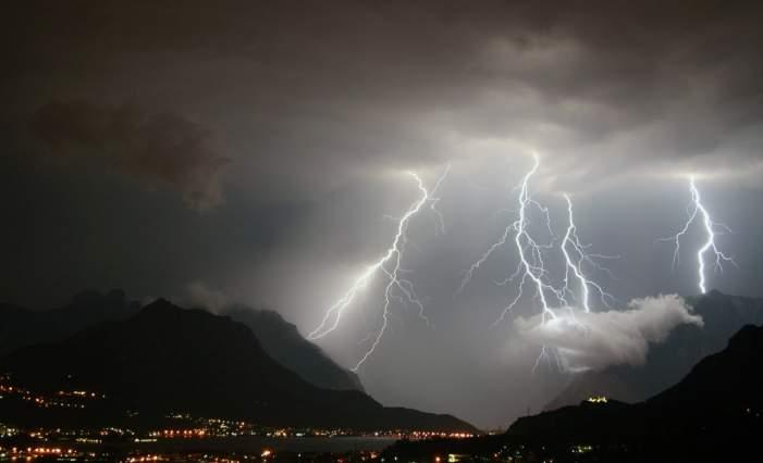 Maltempo, da questa sera allerta meteo sulla regione Lazio