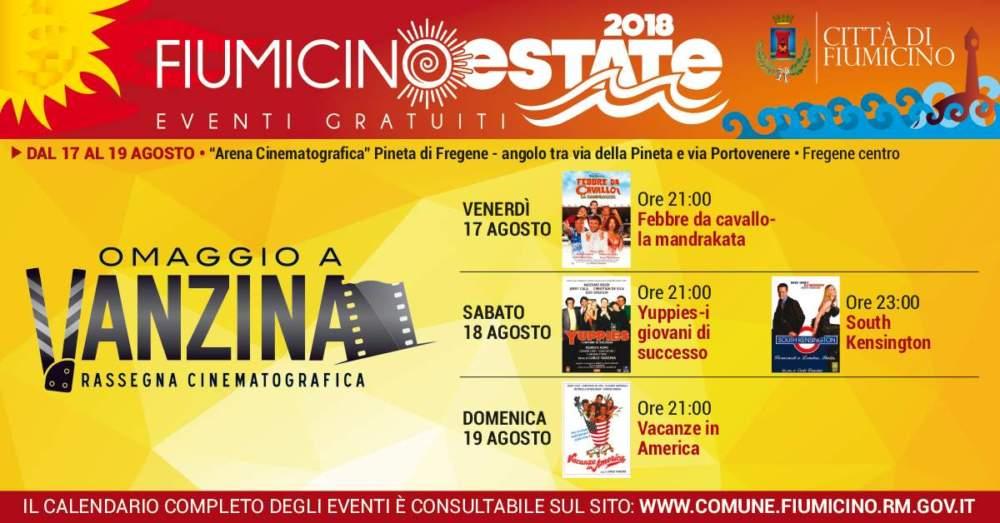 Fiumicino Estate, il programma degli eventi fino a domenica