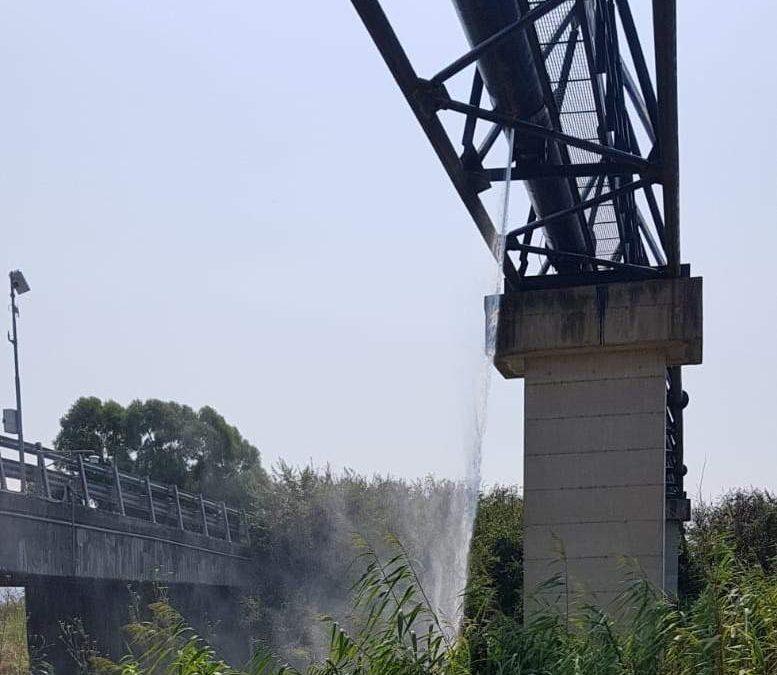 Geyser dal ponte del Mignone, il Codacons porta il caso in Procura