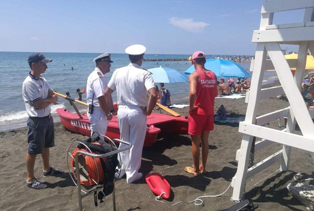 Guardia Costiera, il direttore marittimo Leone visita Ladispoli, Cerveteri, Montalto e Tarquinia