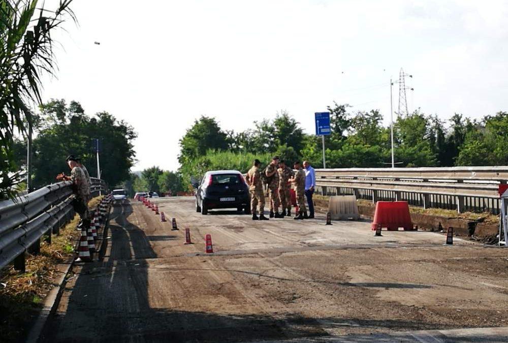 """Ponte della Scafa, Poggio: """"No ai furbetti salta fila"""""""
