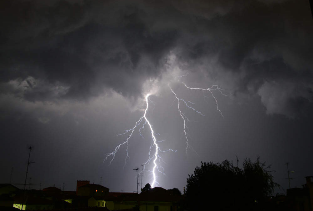 Allerta meteo Regione Lazio: in arrivo temporali e raffiche di vento