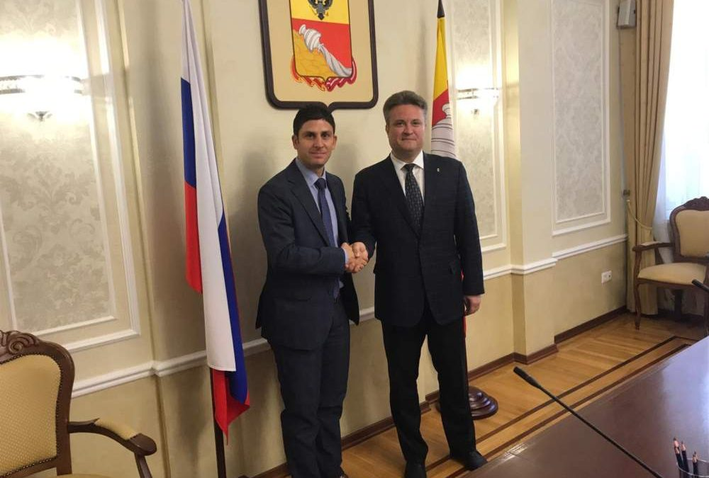 """Milani:  """"Gettate le basi per una collaborazione  tra Ladispoli e la Russia in campo imprenditoriale"""""""