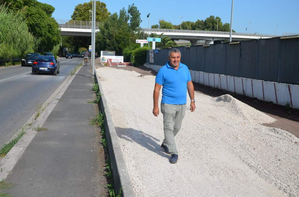 Fiumicino, da lunedì pulizia delle piste ciclabili