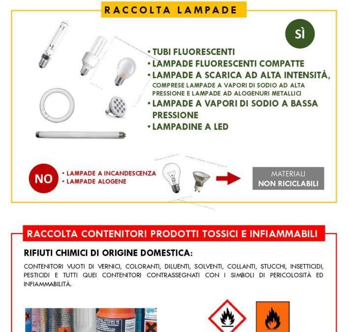 Cerveteri, rifiuti: da lunedi 17 settembre sarà possibile conferire barattoli di vernice e lampade al neon