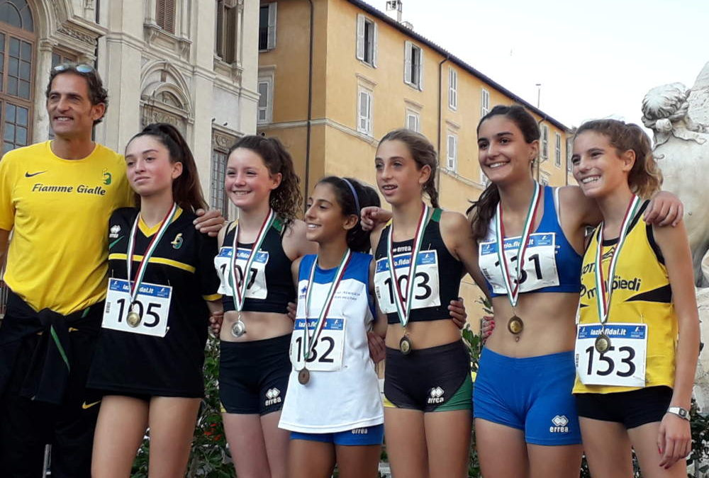 Atletica, la Millepiedi Ladispoli insieme a Piazza Navona