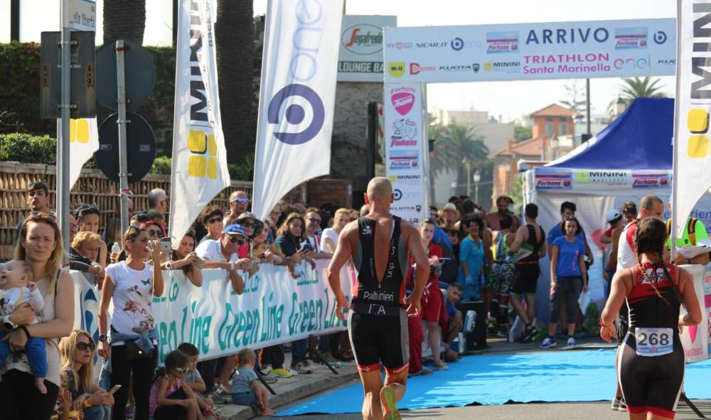 Santa Marinella, 280 atleti al Triathlon Sprint