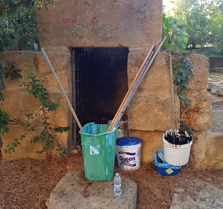 Santa Marinella, CasaPound ripulisce la tomba delle Volpelle