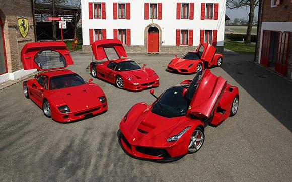Vini Autentici, Oriolo Romano ospita il raduno delle Ferrari
