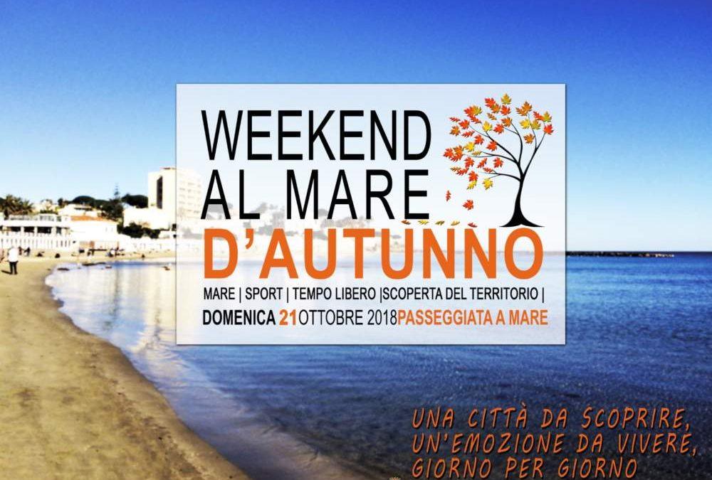 Santa Marinella, domenica torna il Weekend Al Mare D'Autunno