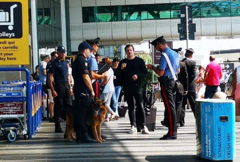 Spacciava coca all'aeroporto: arrestato un 43enne dai carabinieri di Fiumicino