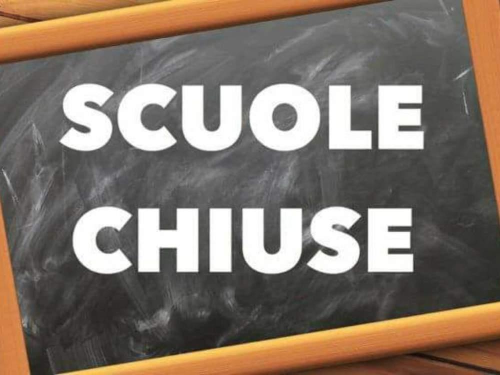 scuole chiuse maltempo