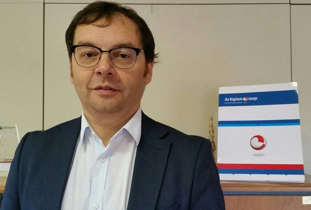 Cna, Vittorio Palazzini nuovo segretario Artigiancoop