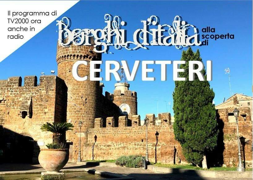"""Speciale Cerveteri oggi pomeriggio su Tv2000 in """"Borghi d'Italia"""""""