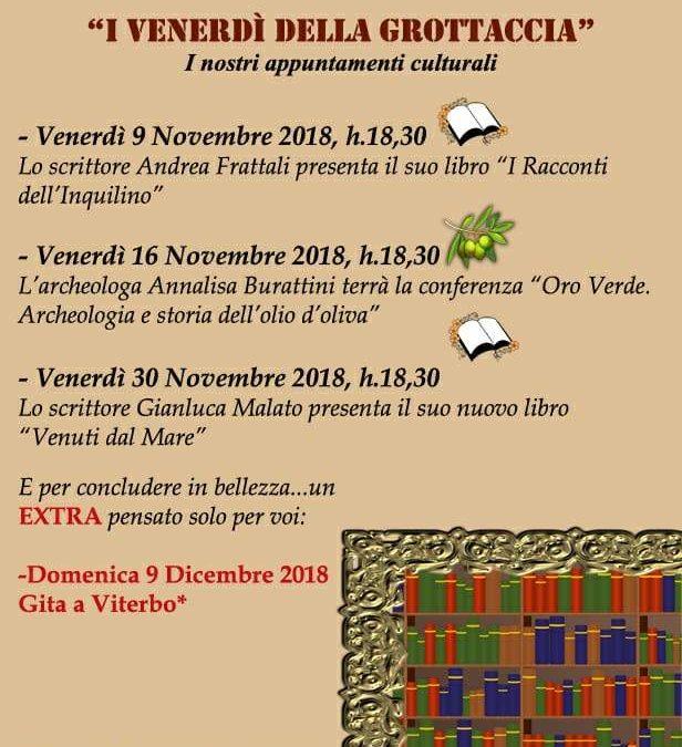 """Iniziano gli appuntamenti de """"I venerdì della Grottaccia"""" a Ladispoli"""