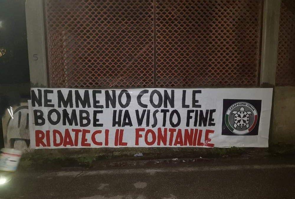 """Santa Marinella, CasaPound: """"Tutelare il fontanile storico di Vicolo della Scaletta"""""""