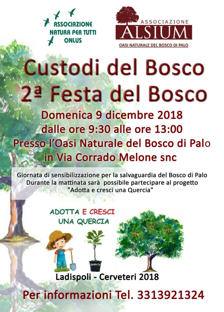 Festa del Bosco 2018_Oasi di Palo