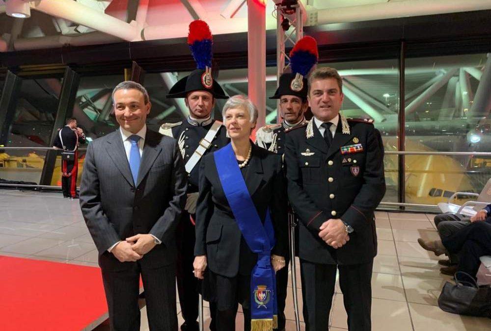 ADR: A Fiumicino il concerto di Natale della Banda Musicale dell'Arma dei Carabinieri conquista i passeggeri dello scalo