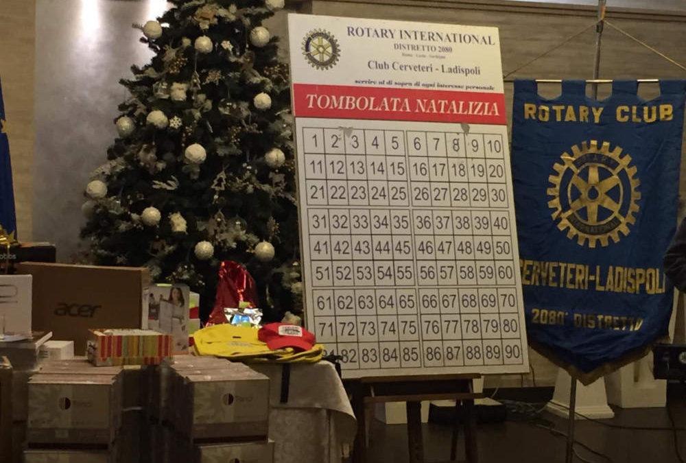 Bene la tombolata di beneficenza del Rotary Ladispoli e Cerveteri