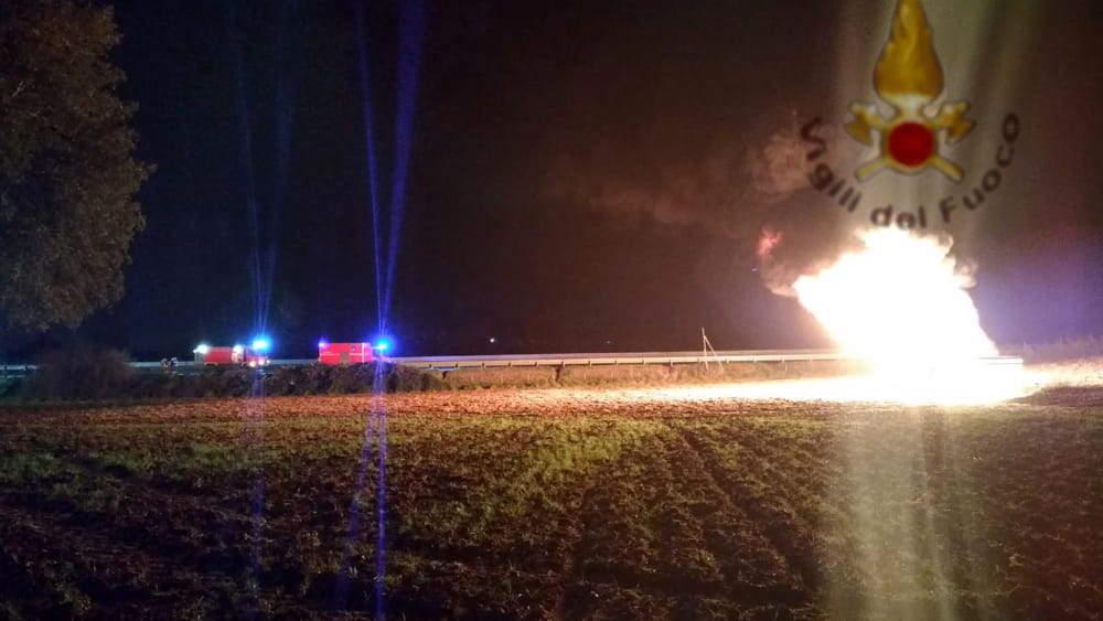 Incendio sull'oleodotto Fiumicino Civitavecchia: si segue la pista del tentato furto