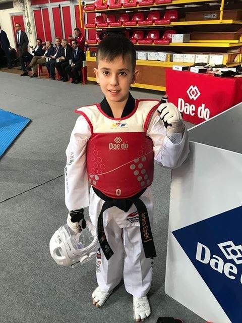 Andrea Giardini medaglia di bronzo per la Asd Sport For You 2 Taekwondo Bracciano