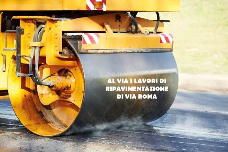 Manziana, il 14 e il 15 gennaio al via i lavori di pavimentazione di Via Roma