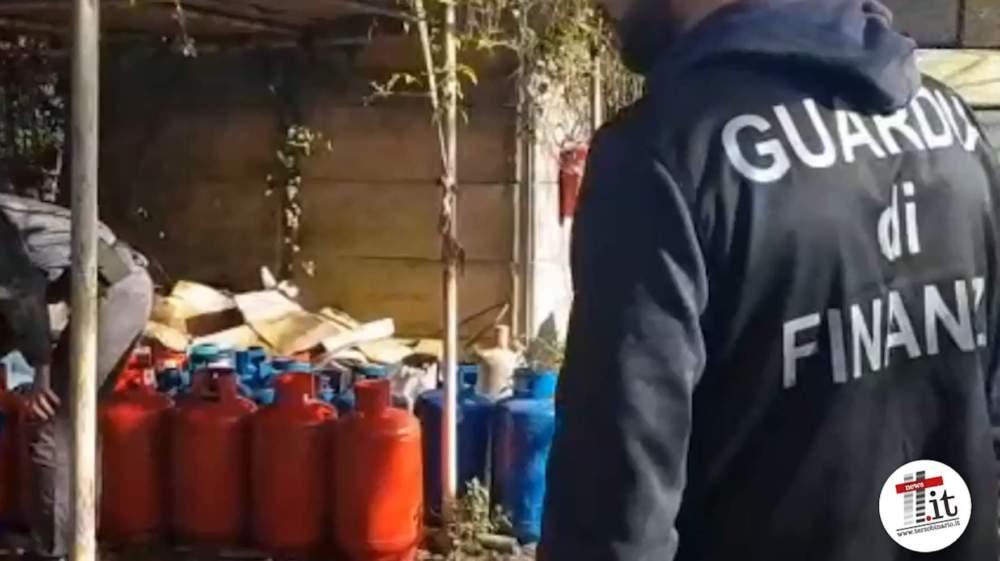Sequestrate 5.000 bombole di gas non sicure