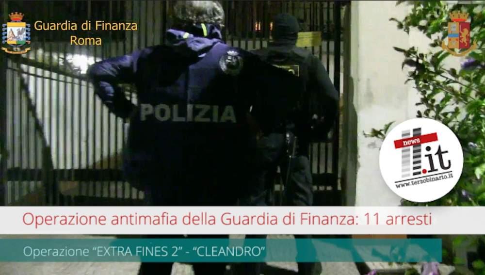 Operazione antimafia della Guardia di Finanza: 11 arresti