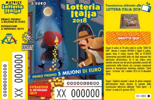 Lotteria Italia: la dea bendata bacia Oriolo Romano