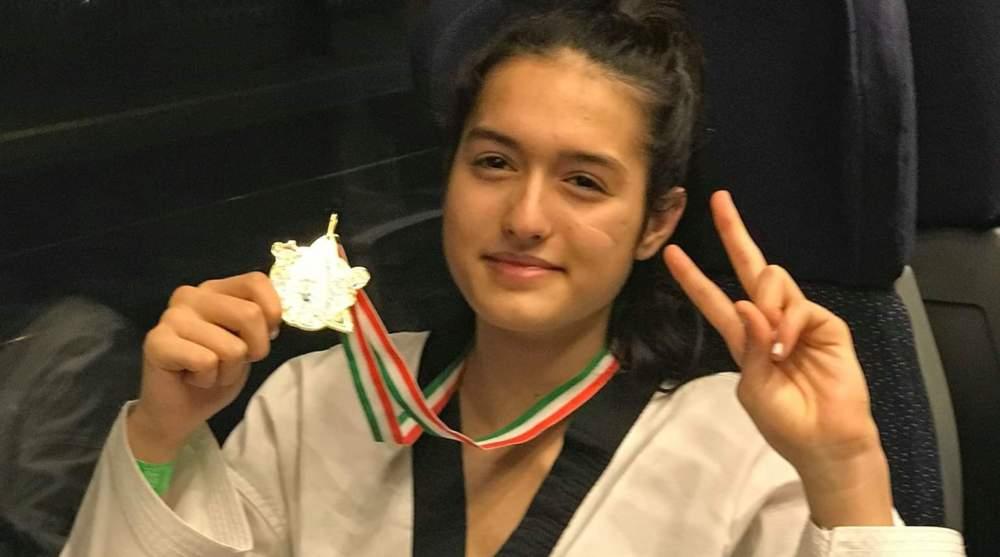 Medaglia D'oro per Valentina Traversi della Società Sportiva Sport For You 2