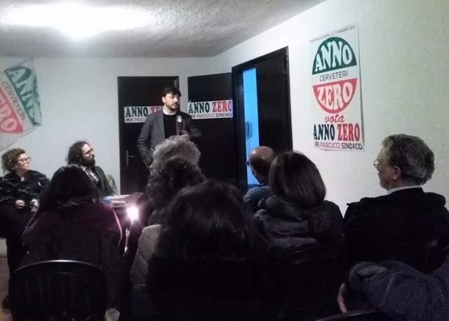 Cerveteri, Annozero incontra Eugenio Patanè