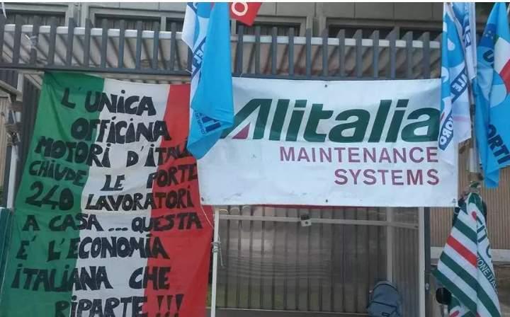 """Trasporto aereo, Uil-Ugl: """"Da Comune Fiumicino e Regione solo parole su lavoratori ex Alitalia Maintenance Systems. Subito fatti concreti"""""""