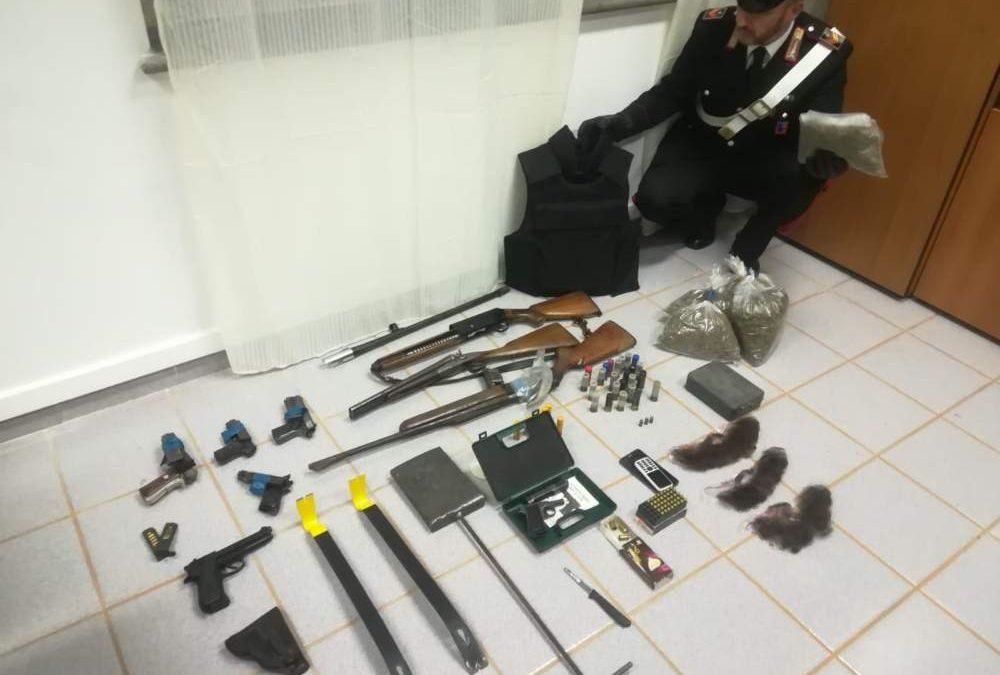 Possedevano droga ed armi, arrestate 2 persone a Bracciano