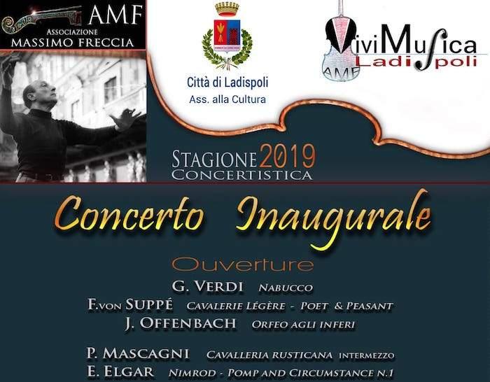 Ladispoli, al via la stagione concertistica dell'orchestra Massimo Freccia