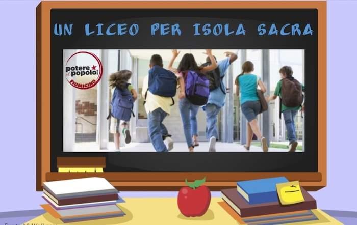 """Fiumicino, Potere al Popolo: """"Subito un Liceo a Isola Sacra"""""""