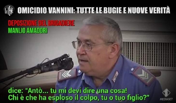 """Il carabiniere del caso Cucchi ad Amadori: """"Dica tutto quello che sa sul caso Vannini"""""""