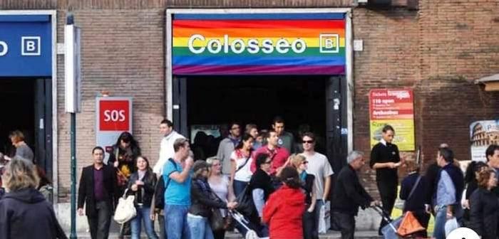 Stazione metro rainbow a Roma: la richiesta del Gay Center a Virginia Raggi e Netflix