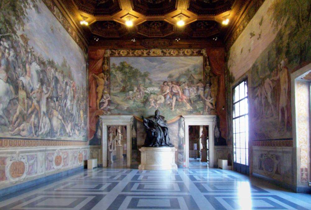 La Corrado Melone di Ladispoli in visita ai musei capitolini