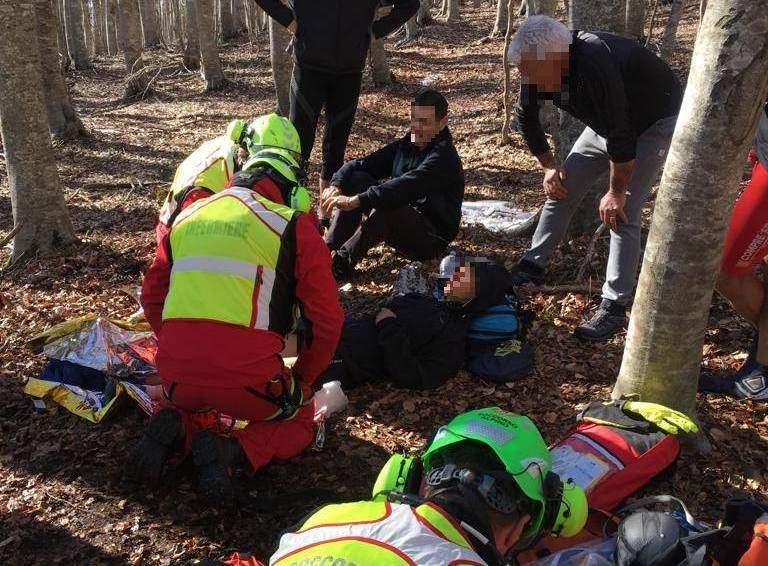55enne civitavecchiese salvata durante un'escursione in Sardegna