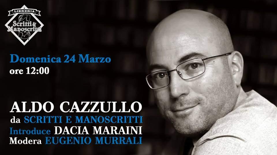 Ladispoli, Aldo Cazzullo alla libreria Scritti e Manoscritti