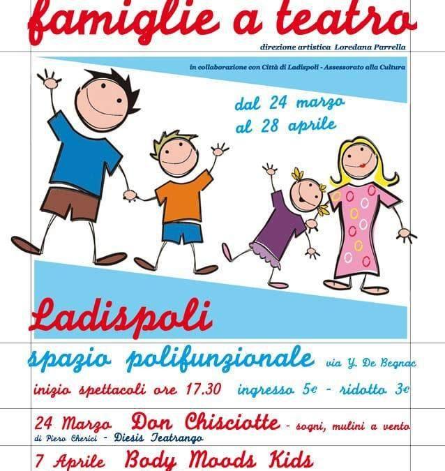 """Domenica 24 marzo inizia la rassegna primaverile """"Famiglie a Teatro"""""""