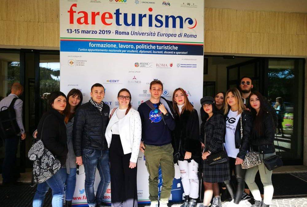 """Gli studenti dell'alberghiero di Ladispoli partecipano a """"Fare Turismo"""""""