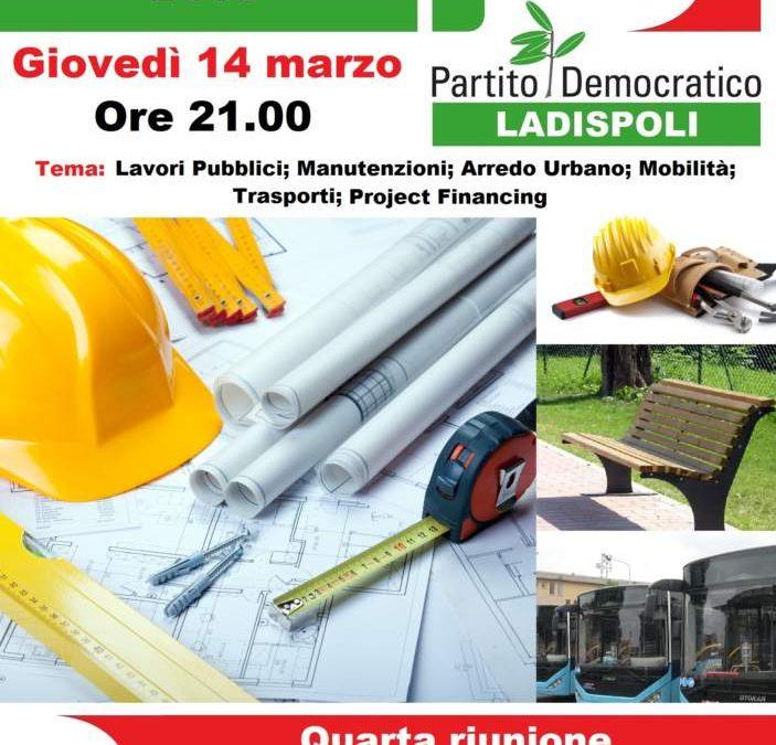 Giovedì assemblea Pd Ladispoli sui Lavori pubblici
