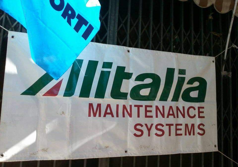 """Trasporto aereo, Ugl Lazio: """"Subito sostegno da Regione per lavoratori ex Alitalia Maintenance Systems"""""""