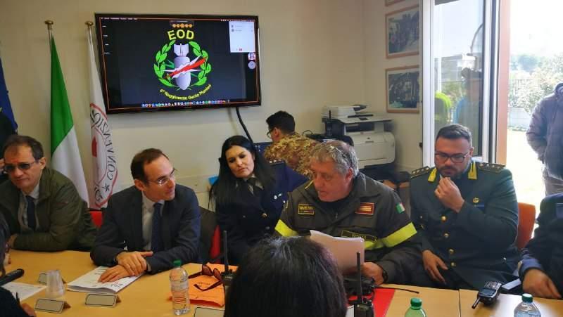 La bomba non esplode: Santa Severa blindata per altre due ore